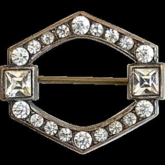 Beautiful Art Deco Paste Pin