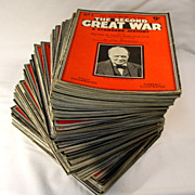 """The Second Great War"" A Standard History Magazine, 1939 to 1946 - (91 Issues)"