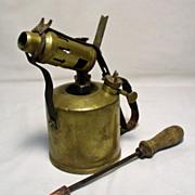 Aetna Primus Brass Blow Torch & Copper Welding Tool