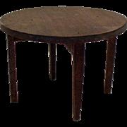 Original 1920's Tynietoy Round Table - Dollhouse Furniture