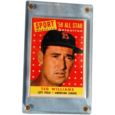 Ted Williams 1958 All Star Card