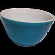 Pyrex Mixing Bowl Blue 401 1.5 Pint