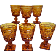 Colony Park Lane Wine  Juice Goblet Set of 6