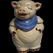 Shawnee Smiley Pig Cookie Jar USA