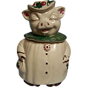 Shawnee Winnie Pig Cookie Jar USA - Red Tag Sale Item