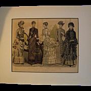 Peterson Magazine Les Modes March 1884