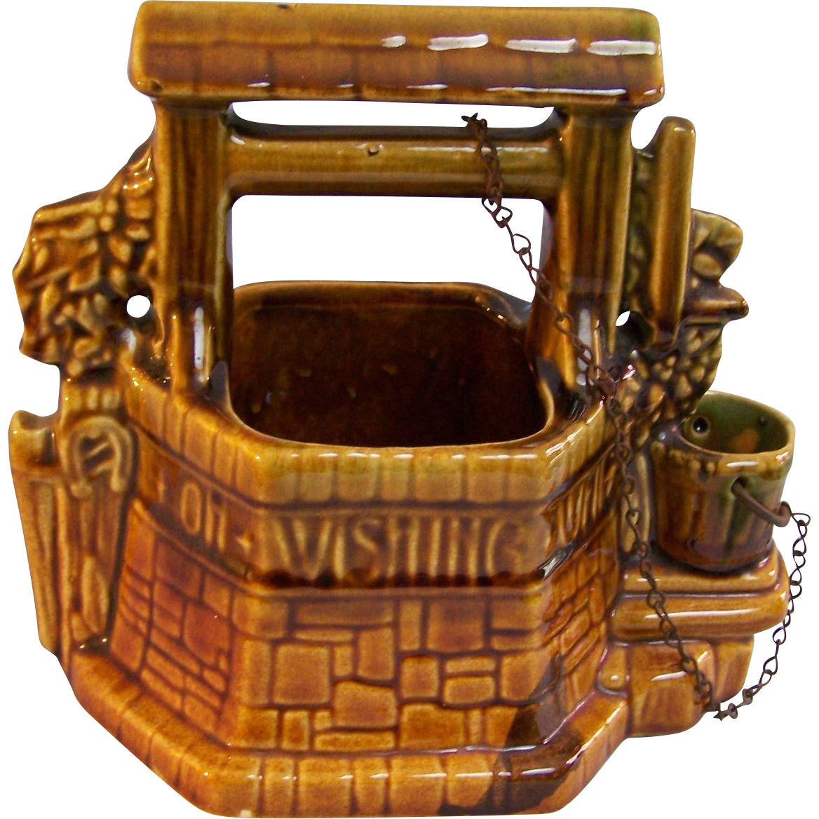 McCoy Planter Wishing Well