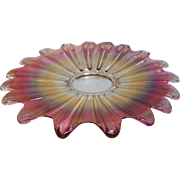 Federal Ruby Celestial Gem Serving Plate