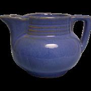 Tea Pot Salada Single Serving Blue Pottery 1950