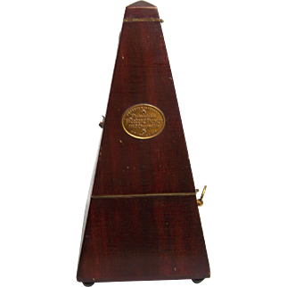 Theodore Presser Metronome ~ Improved Maelzel ~ Early 1900s