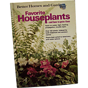 Better Homes and Garden Favorite Houseplants