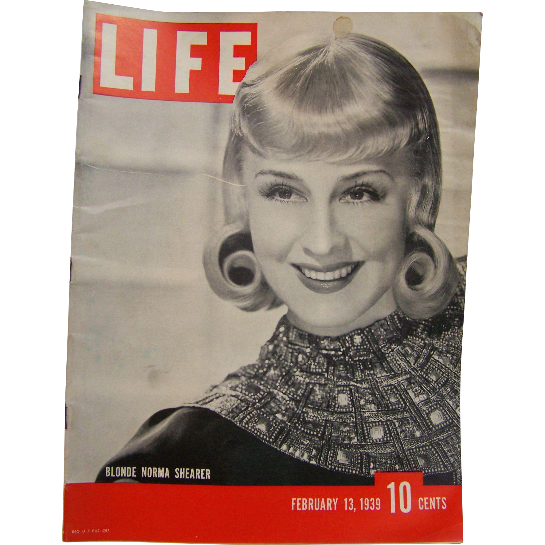 Life Magazine Feb 13 1939 From Wings On Ruby Lane