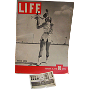 Life Magazine Feb 26 1940 with original Photo