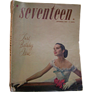 Seventeen Magazine September 1947 Scavullo