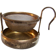 Tea Strainer Swivel Caddy and Handle