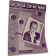 Sheet Music Georgia On My Mind