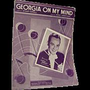 Sheet Music Georgia On My Mind