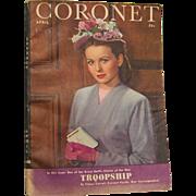 Coronet Magazine April 1945