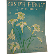 Sheet Music Easter Parade