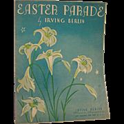 Sheet Music Easter Parade