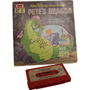 Disney Pete's Dragon and Brer Rabbit Read along Book and Cassette