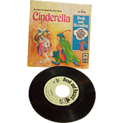 Book and Record Read Along Cinderella