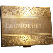 Launderette Coin Box