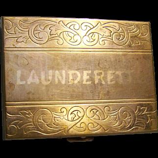 Launderette Coin Box