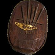 Primitive Kalimba Thumb Piano Handmade Fiddle Tuner