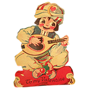 Valentine Card German Movable Stand-up