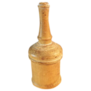 Victorian Glove Powder Shaker Wood
