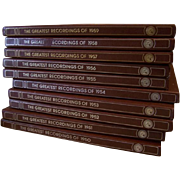 Franklin Mint Great Recordings of the 1950's10 Boxed Sets