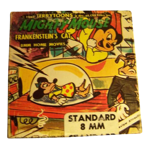 Home Movie 8mm Cartoon Mighty Mouse