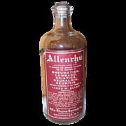 Medicine Bottle Allenrhu Lumbago