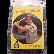 1959 Topps Brook Robinson Baseball Card #439