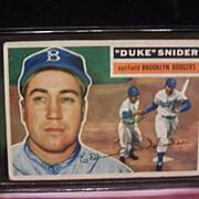 1956 Duke Snider Topps #150