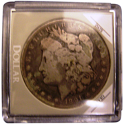 Morgan Silver Dollar 1891 CC