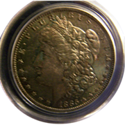 Morgan Silver Dollar 1885 O