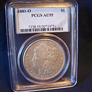Morgan Silver Dollar 1881 O