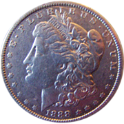 Morgan Silver Dollar 1888 O