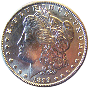 Morgan Silver Dollar 1899 O