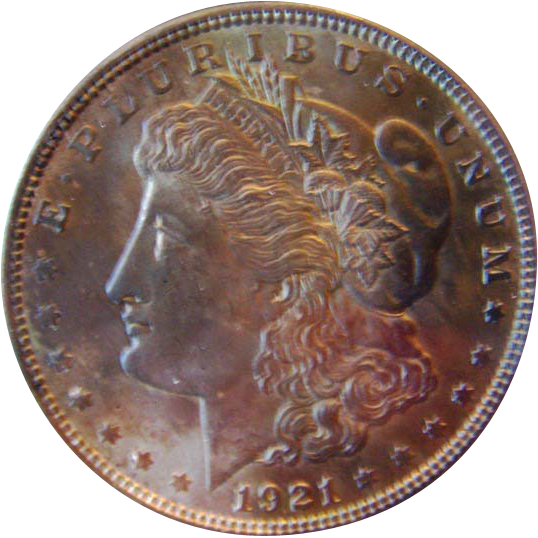 Morgan Silver Dollar 1921 P