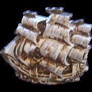 TV Lamp Sailing Ship