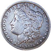 Morgan Silver Dollar 1890 - O