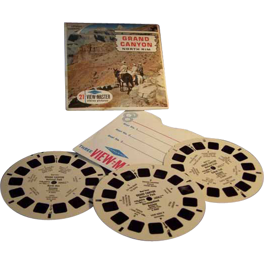 View Master Reels Grand Canyon