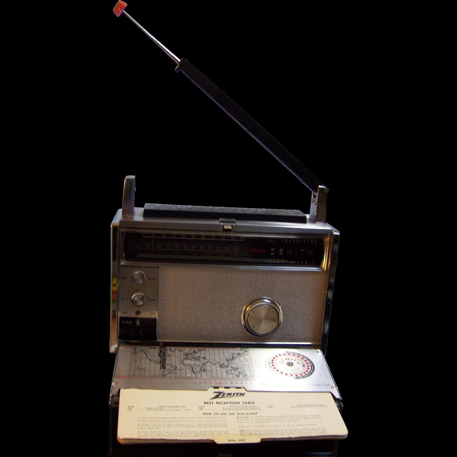 Zenith Trans Oceanic 3000-1 Multi Band AM FM Radio