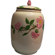 Franciscan Desert Rose Cookie Jar
