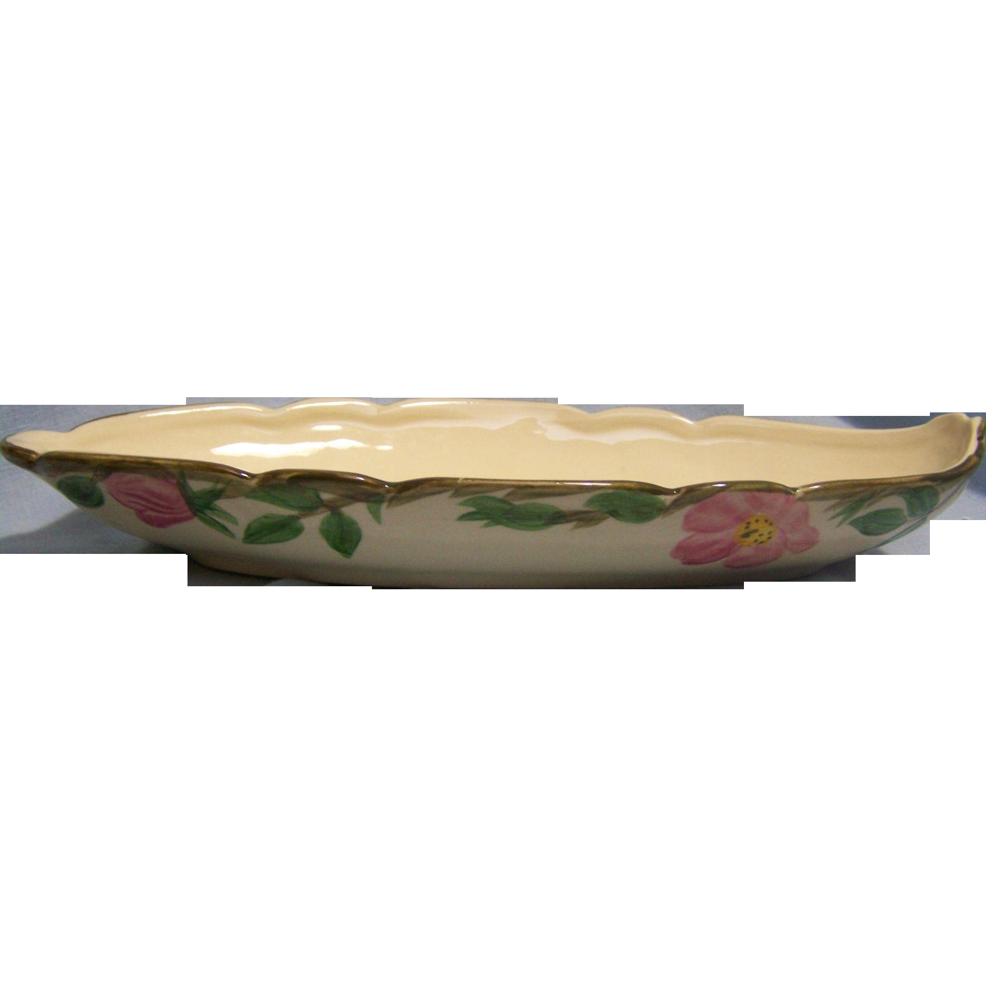 Franciscan Desert Rose Relish Bowl