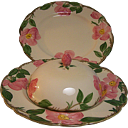 Franciscan Luncheon Plates and Cover