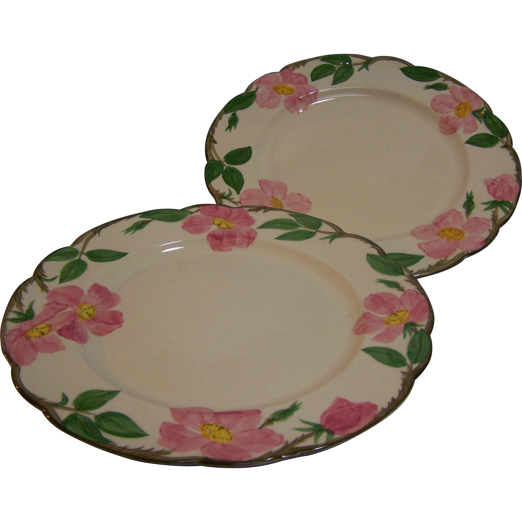 Franciscan Dinner Plates Desert Rose